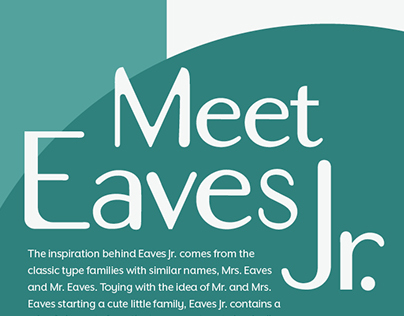 Eaves Junior Custom Typeface