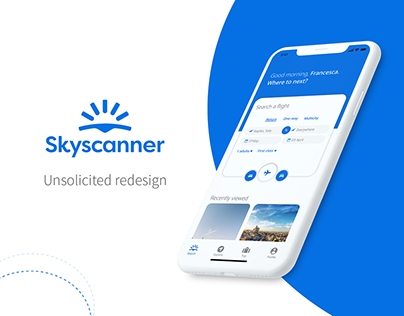 Skyscanner - Unsolicited redesign