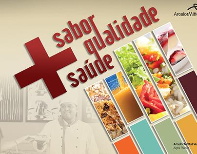 Campanha Sabor+Saúde Arcelor Mittal (by EDM Logos)