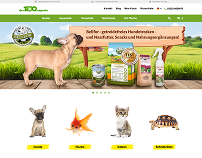 Der Zooexpere Website Creation