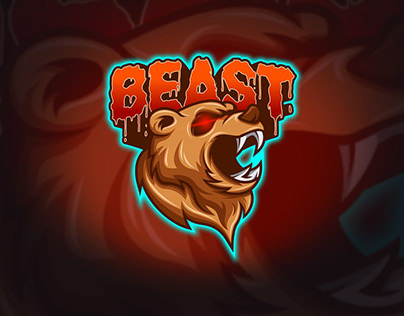 Animal Mascot logo.