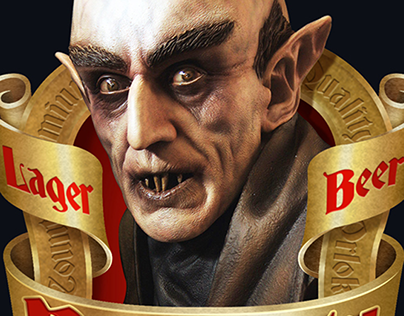Nosferatu Beer © Packaging Design