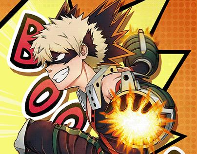 Bakugou Katsuki - Boku no Hero Academia