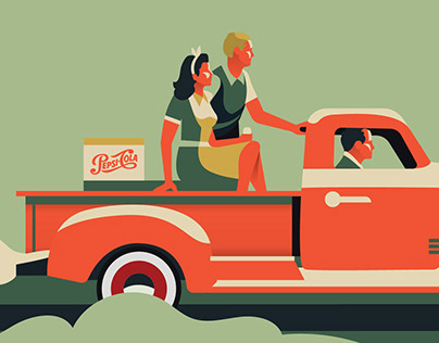 50s Style Video for Pepsi