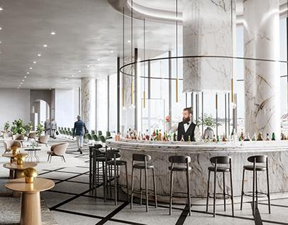 Airport lounges. Paris