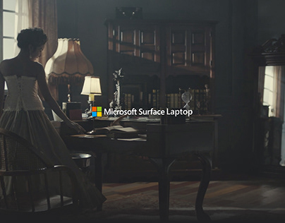 Microsoft Surface Laptop campaign
