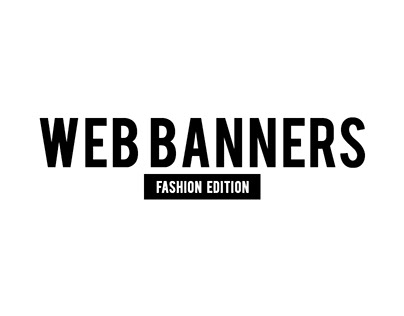 Web Banners (Fashion Edition)