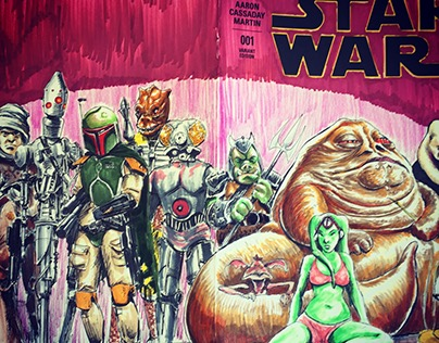 Comic Book Sketch Covers