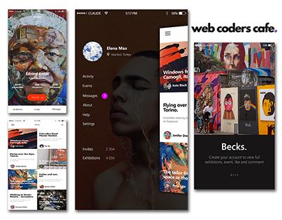 Blogging iOS Application Development - Web Coders Cafe