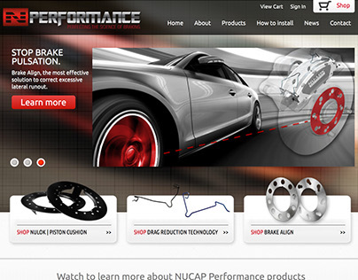 NPerformance website