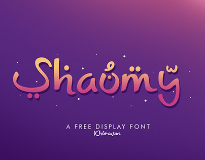 Shaumy free font for commercial use