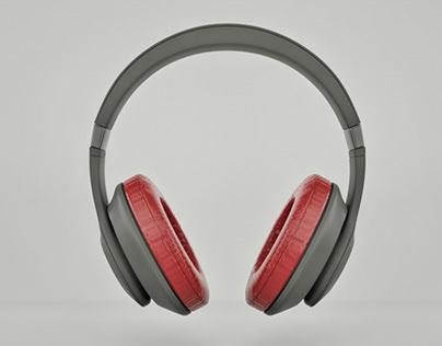Wireless Headphone (3D Modelling)
