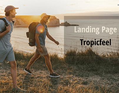 Landing Page | Backpack Tropicfeel