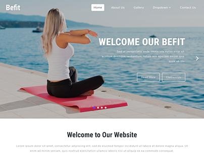 Fitness Website Development - Web Coders Cafe