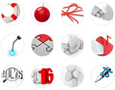 3D COLLECTION | Icons