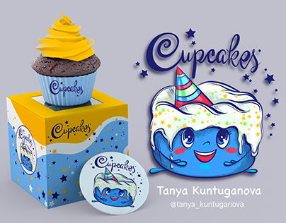Design the bakery of cupcakes and cakes