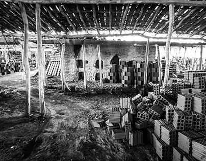 Brick factory in Brazil