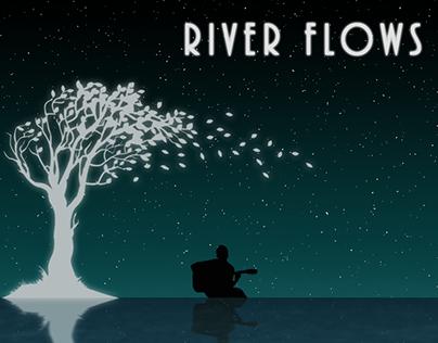 River Flows -Album Cover