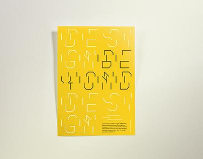Type Poster — Jan van Toorn