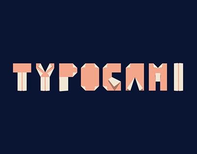 Typogami - Animated Typeface