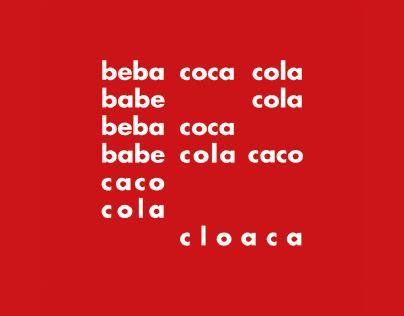beba coca cola - Typographic animation