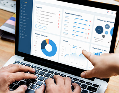 HR management Dashboard design