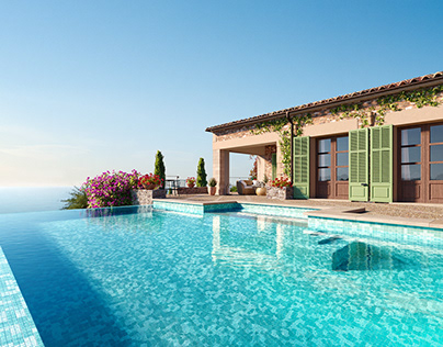 Perfect island villa