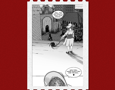 Comic Page Illustration - No. 04
