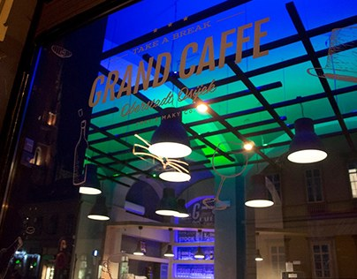 Grand Caffe | Oberstadt Osijek /// Posters and flyers