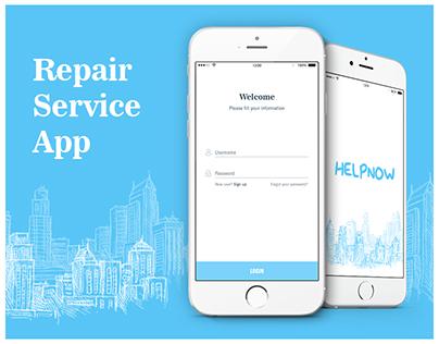 HelpNow - Repair service app