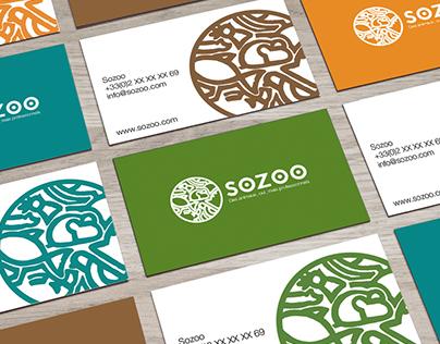 Logotype - Sozoo, casting animalier