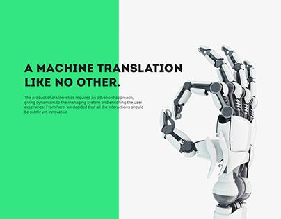 Lucy LT - Translation web app