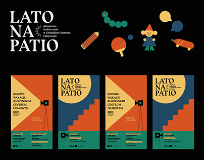 lato na patio ✦ event branding
