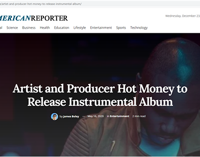 Hot Money to Release Instrumental Album