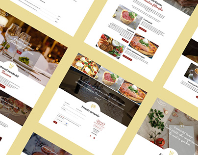 Website for Ristorante Varano