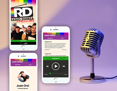 Radio Dureza (Audio Podcast & Mobile App)