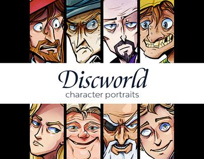 Discworld Character Portraits