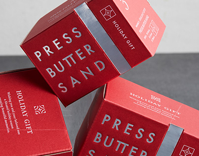 PRESS BUTTER SAND Holiday Gift