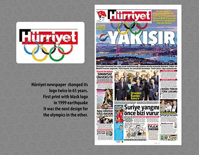 Additional logo designs for Hürriyet Newspaper