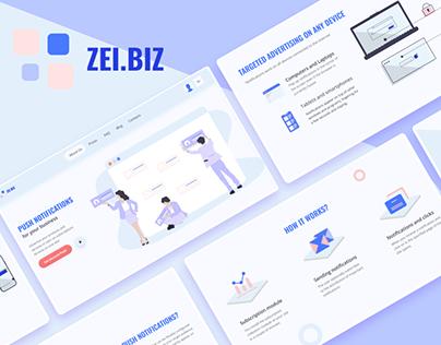 Zel.Biz - Corporate Website