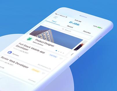 Ei Job - iOS Application Design