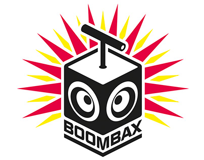 BOOMBAX logo design