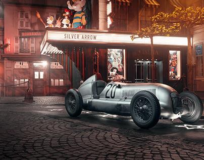1934 Mercedes-Benz Silver Arrow
