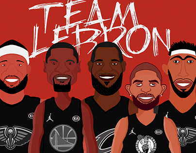 NBA ALL-STAR 2018 #TEAMLeBron