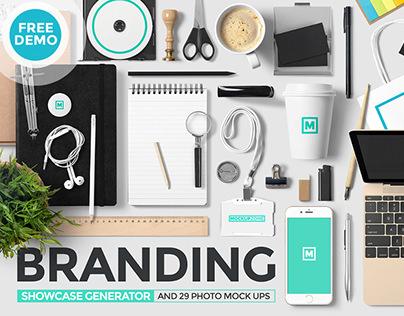 Branding Showcase Generator + Photos