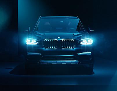 BMW X3 2018 FULL CGI