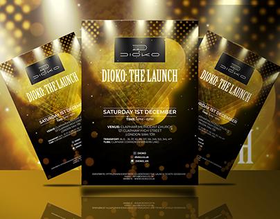 Event Flyer For DOIKO (UK)