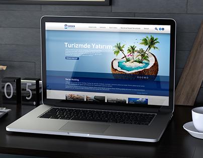 SARAN HOLDİNG   Kurumsal Web Sitesi Tasarımı