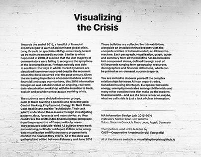 #visualizingthecrisis