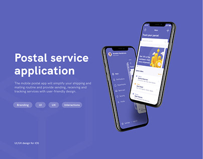Postal Service Application